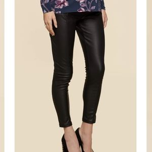 NWT Jessica Simpson Maternity Faux Leather Pants